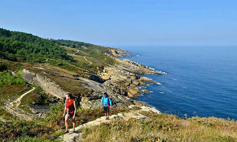 route corniche pays basque