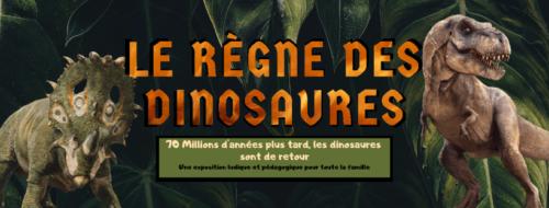 Les dinosaures arrivent sur Biarritz !!