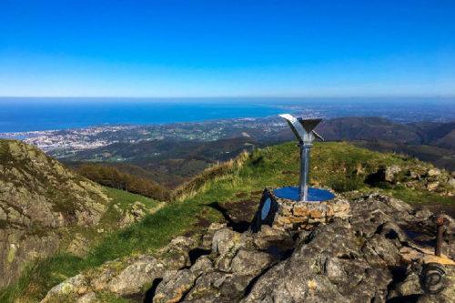 randonnée pays-basque les 3 couronnes