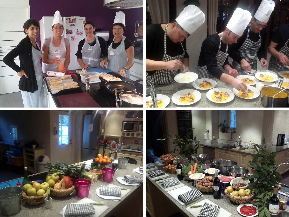 Patrice Verdon - les délices de saison-cours de cuisine