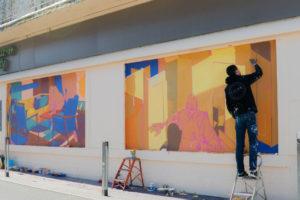 Matth Velvet, street art, Biarritz