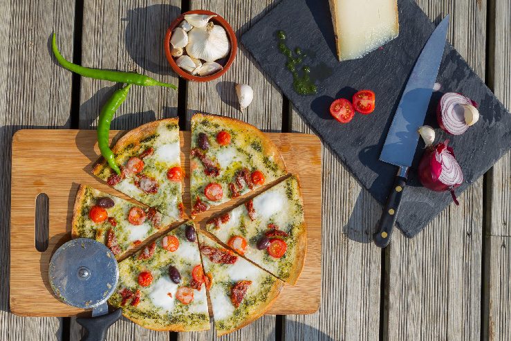 top pizza pays basque
