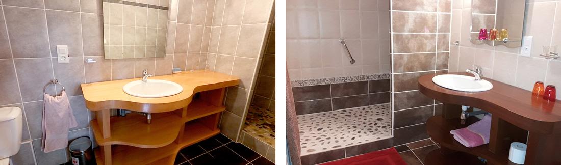 Maison Azkena-chambres d'hôtes-salle de bain