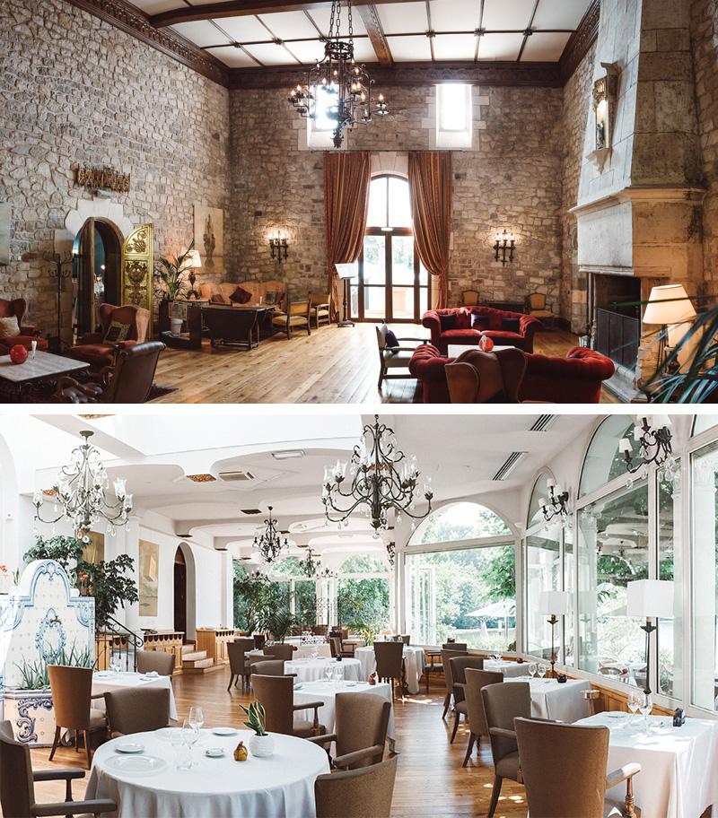 restaurant-salon-château de Brindos