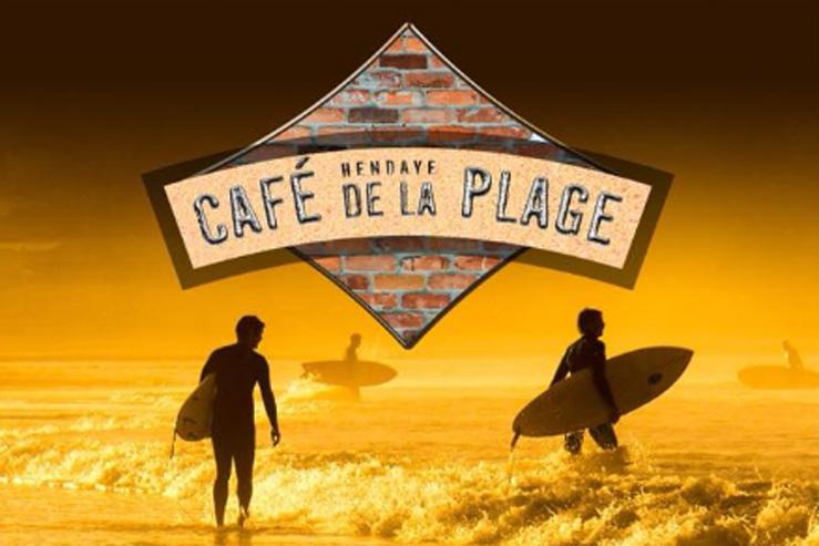 café de la Plage-Hendaye-