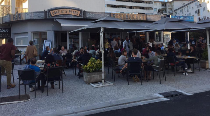 café de la Plage-Hendaye-terrasse