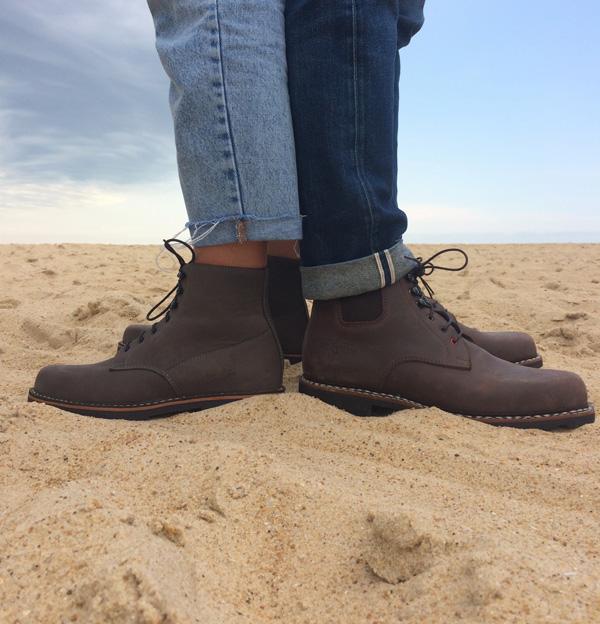 Le Soulor-chaussures nubuck-pays basque