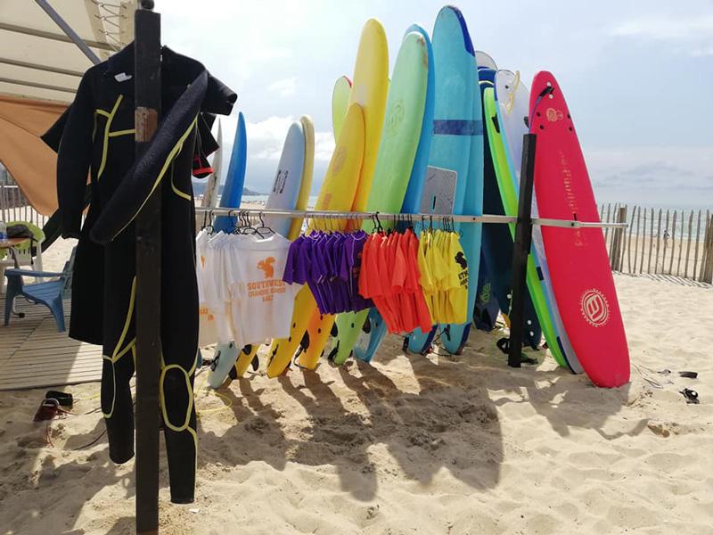 Anglet spirit surf-cours-location materiel-Southwest