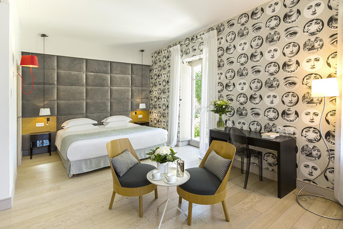 Chambre de luxe-Hotel de Silhouette-Biarritz