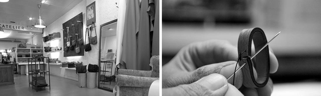 Atelier maroquinerie Manufactoum-St jean de luz