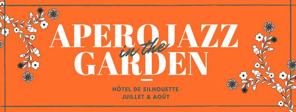 Apéro jazz in the garden -Hôtel de Silhouette Biarritz
