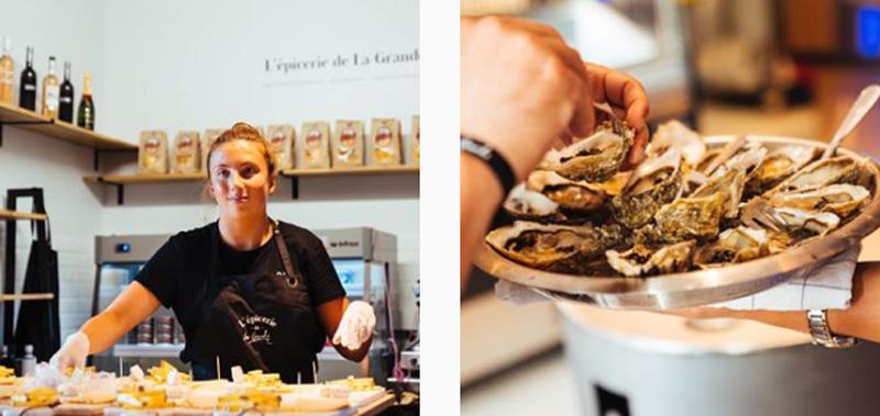 La grande Biarritzq-échoppes culinaires