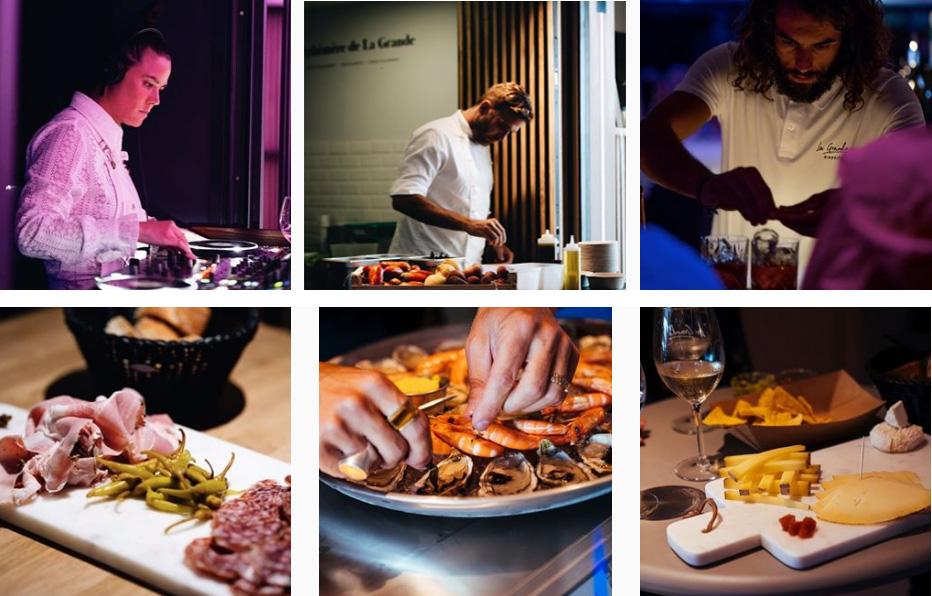 La Grande-Biarritz-Foodcourt musique & gastronomie