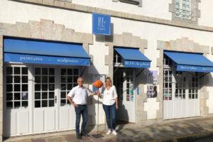 Bleu la galerie-st jean de luz-spécialistes de la mer