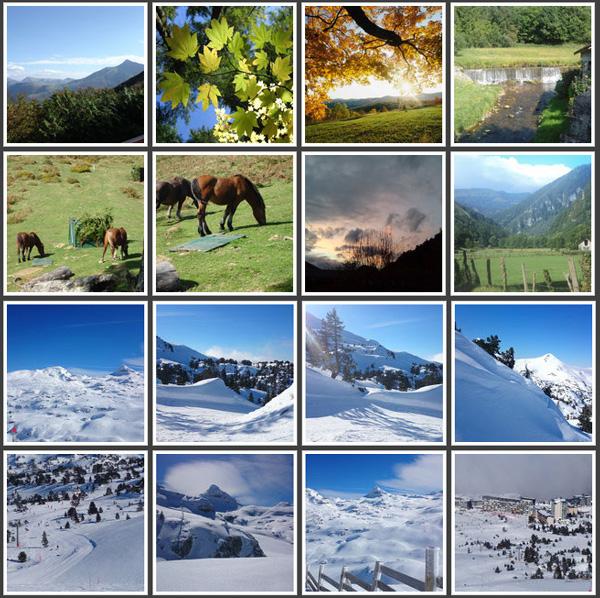 Pyrénées Atlantiques-Arette-Gite les 3 edelweiss