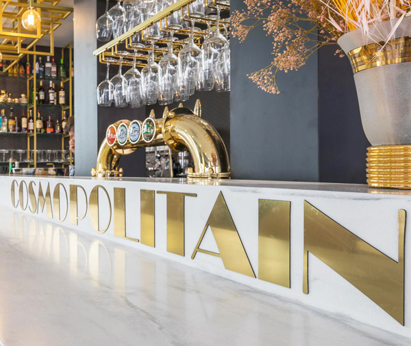 Hotel Cosmopolitain-bar à cocktail-Biarritz