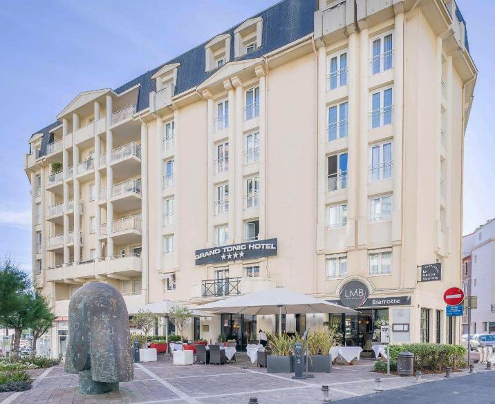 Grand Tonic Hotel-centre de Biarritz