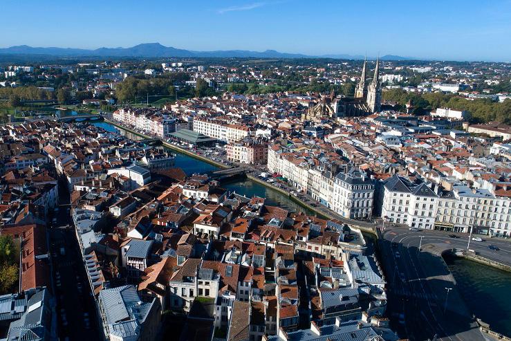 Bayonne vue du ciel @Boris_Sensamat-Que-faire-au-pays-basque