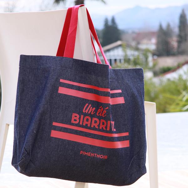 Piment Noir-créations-Biarritz-sac