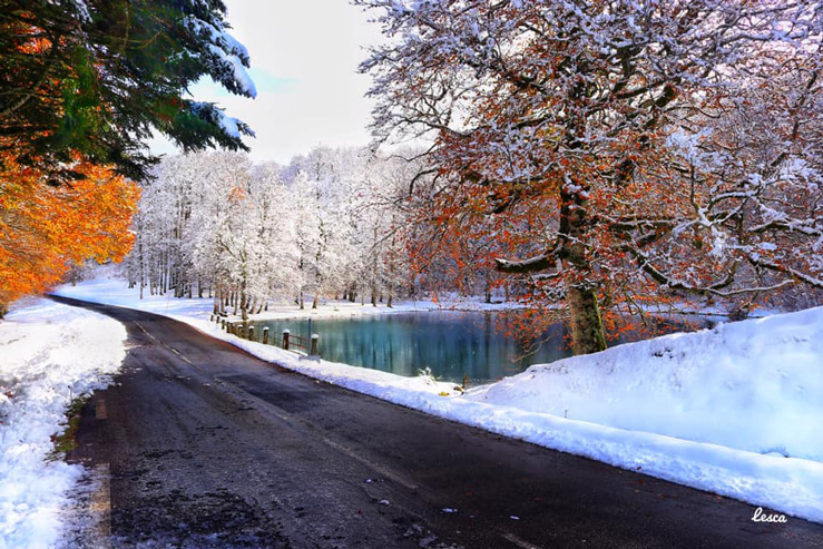 Iraty-Maria Nétra-lac enneigé-quefaireaupaysbasque