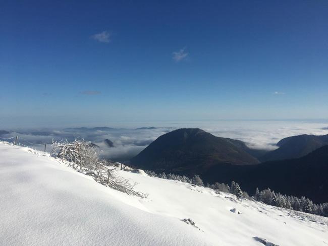 Espace nordique d'Issarbe-vue panoramique