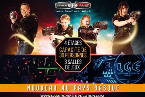 Laser Game evolution-Anglet-Pays Basque