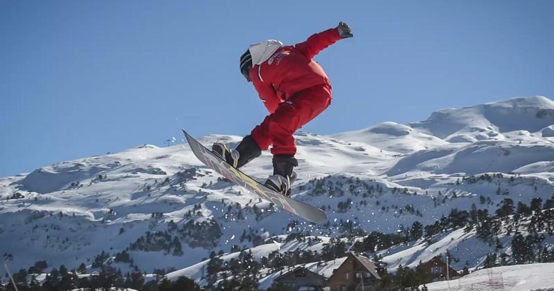 La Pierre St Martin-piste snowboard