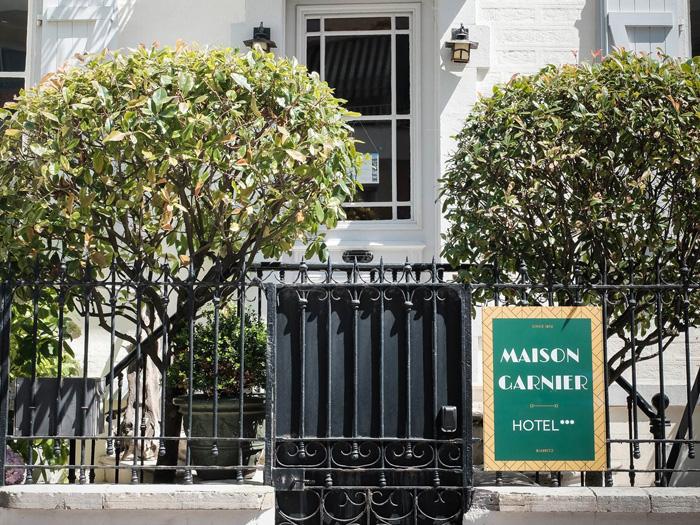 maison Garnier-Hôtel de charme-Biarritz-quartier des Halles