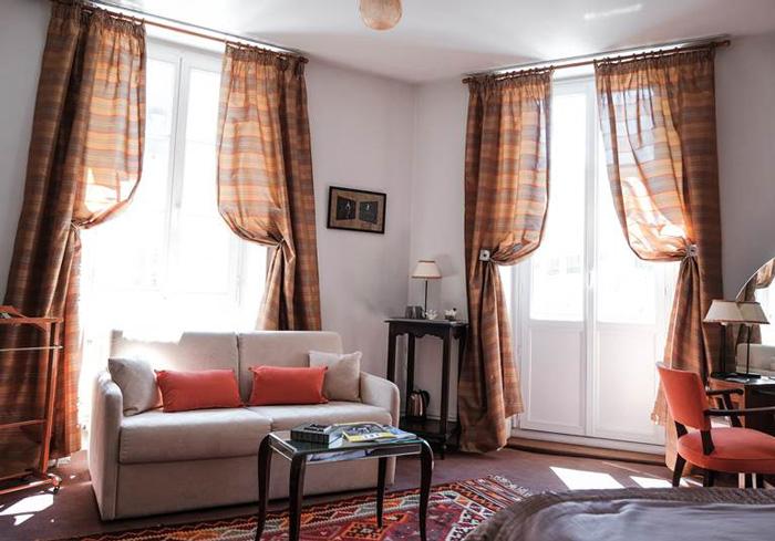 Maison Garnier-chambre de luxe-Biarritz