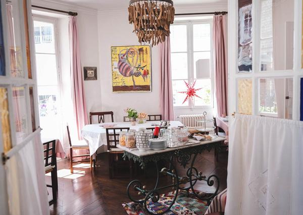 Maison Garnier-petit dejeuner buffet-biarritz