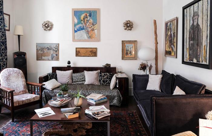 maison Garnier-Hôtel de charme-Biarritz-salon