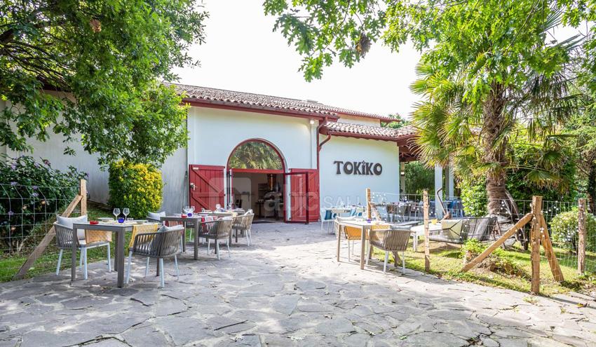 Tokiko restaurant-terrasse et jardin-St Jean de Luz