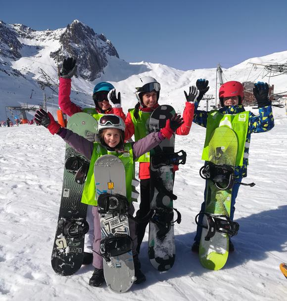 A vos snows-école de snow-La Mongie