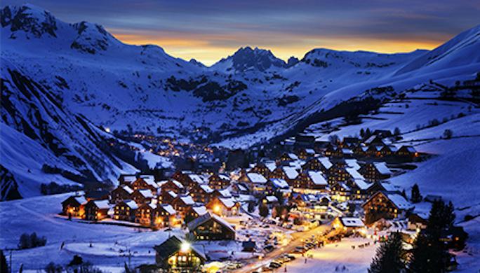 Andorre-station de ski-voyage