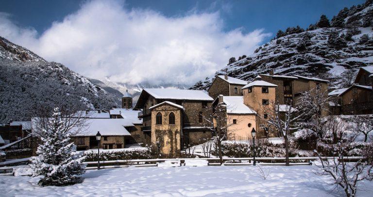 Andorre-Ordino-village rural