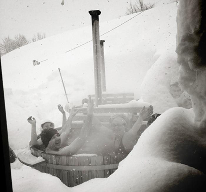 Aventure nordique-bains nordiques-Gourette