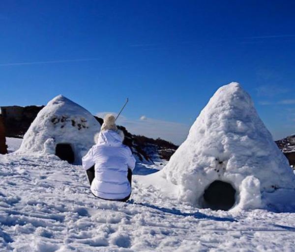 Aventure nordique-nuit en igloo-Gourette