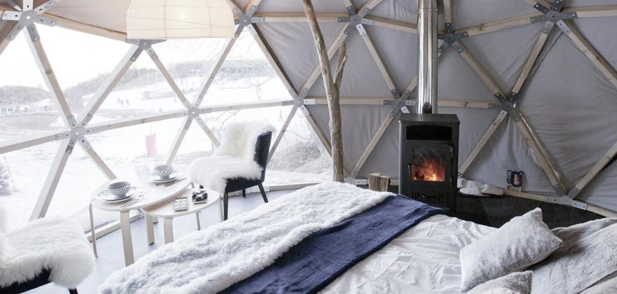 Aventure nordique-nuit en wild dome-Gourette