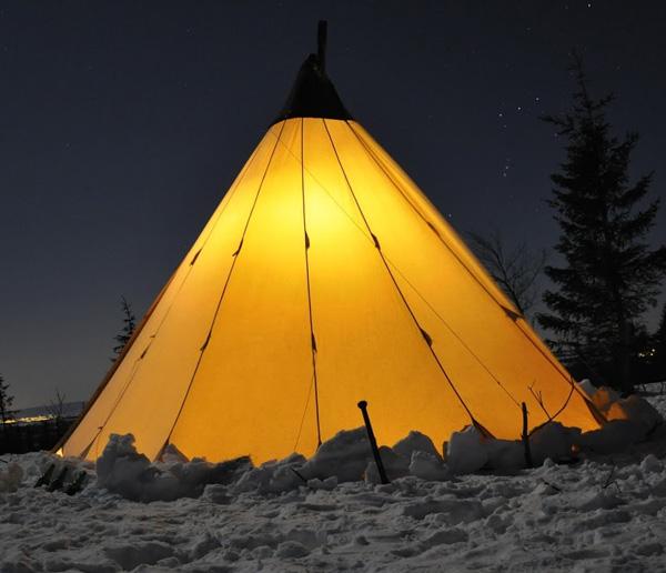 Aventure nordique-nuit en tipi-Gourette