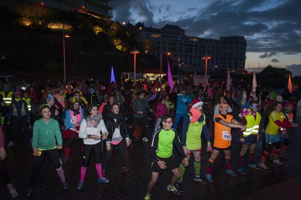 Biarritz en Lumières-Pays Basque-Course des Illuminés