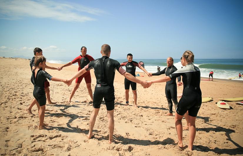 Jeff Bernard-cours surf-développement personnel-Biarritz
