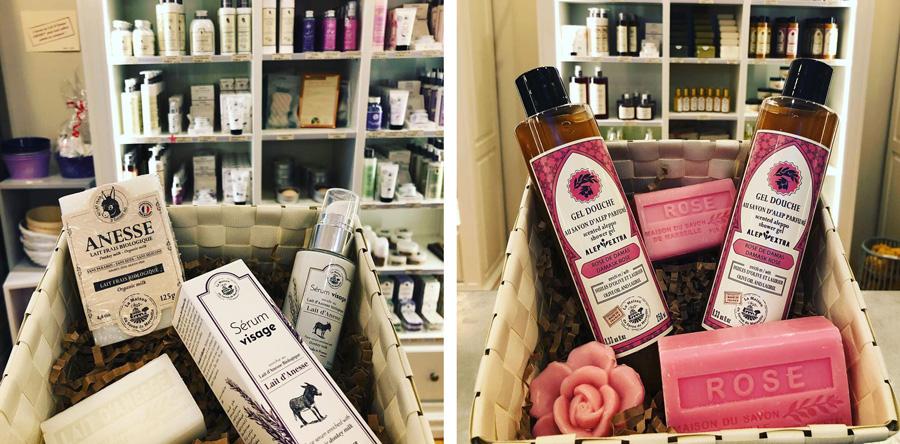 La Maison du Savon-produits naturels-coffrets cadeau-Bayonne