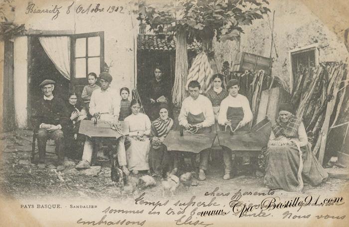 Portrait de famille-Pays Basque