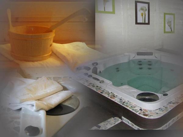 Camping Baretous-Pyrénées-spa et sauna