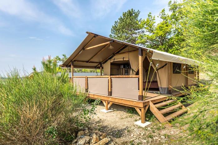 Camping Baretous-Pyrénées-tente lodge
