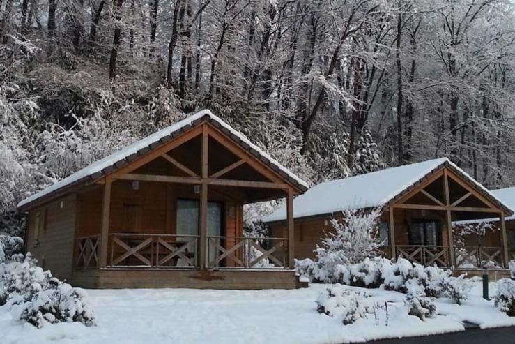 Camping Baretous-Pyrénées-chalet à louer-aramits