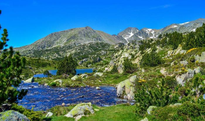 Cerdagne-camping l'Enclave-Pyrénées Orientales