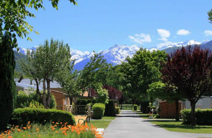 Pyrénées Orientales-Camping l'enclave