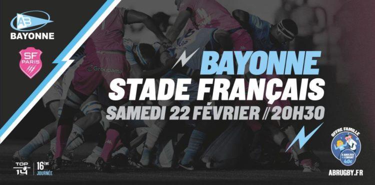 Aviron bayonnais Stade français
