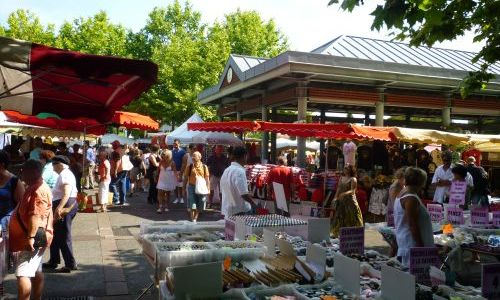Marché quintaou Anglet